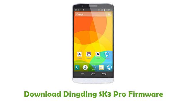 Dingding SK3 Pro Stock ROM