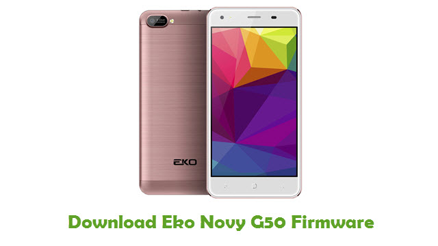 Download Eko Novy G50 Firmware