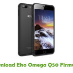 Eko Omega Q50 Firmware