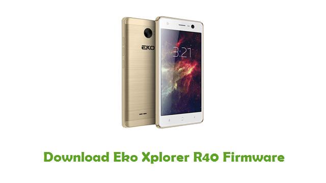Download Eko Xplorer R40 Firmware