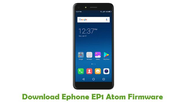 Ephone EP1 Atom Stock ROM