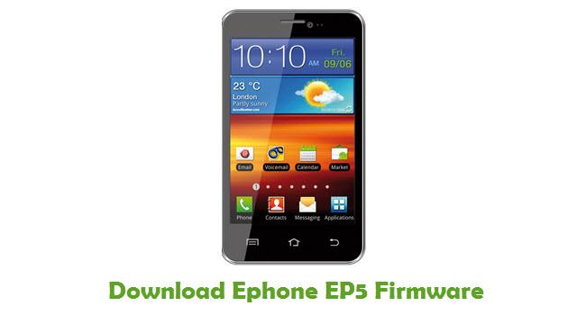 Ephone EP5 Stock ROM