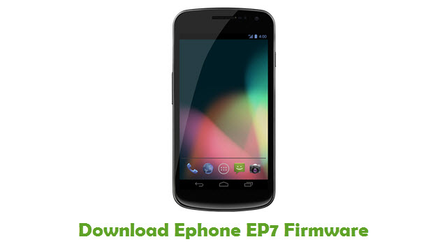 Ephone EP7 Stock ROM