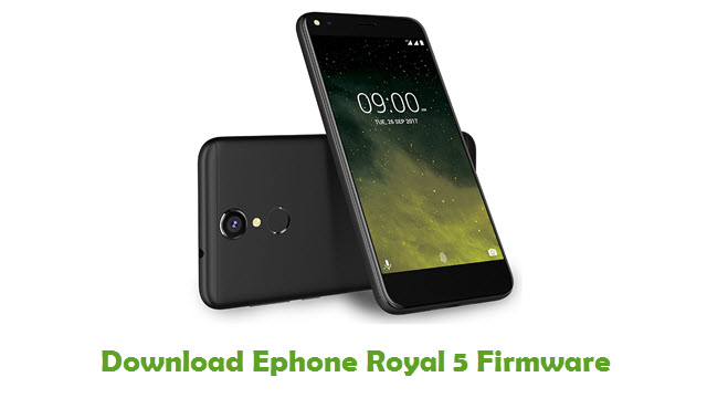 Ephone Royal 5 Stock ROM