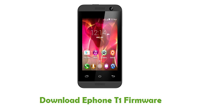 Ephone T1 Stock ROM