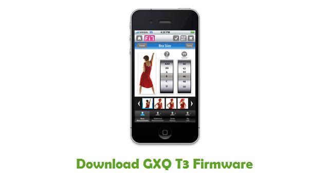 Download GXQ T3 Stock ROM
