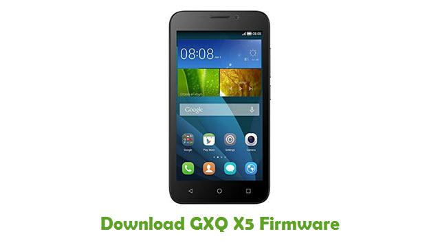 Download GXQ X5 Stock ROM
