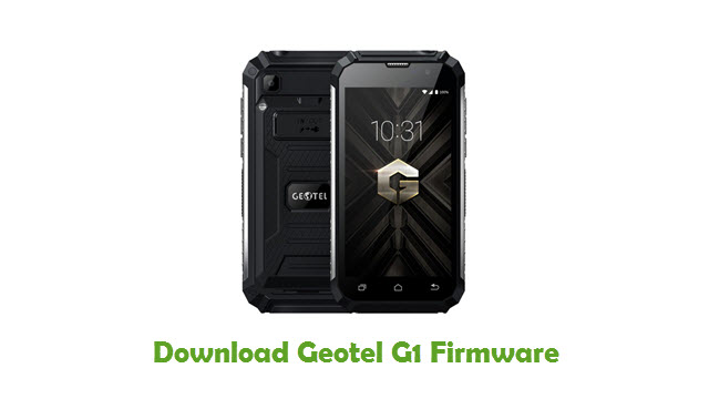 Download Geotel G1 Stock ROM