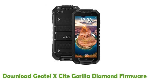 Geotel X Cite Gorilla Diamond Stock ROM