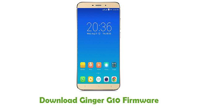 Ginger G10 Stock ROM