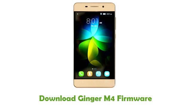 Ginger M4 Stock ROM