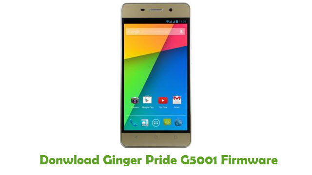 Ginger Pride G5001 Stock ROM