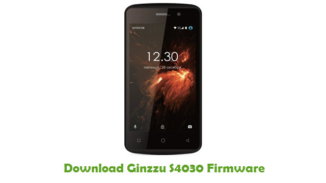 Ginzzu S4030 Stock ROM