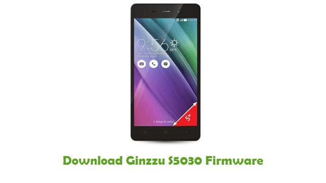 Ginzzu S5030 Stock ROM