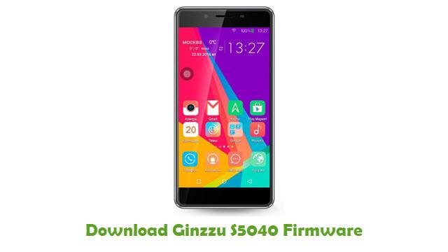 Ginzzu S5040 Stock ROM