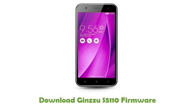 Ginzzu S5110 Stock ROM