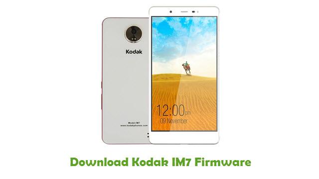 Kodak IM7 Stock ROM