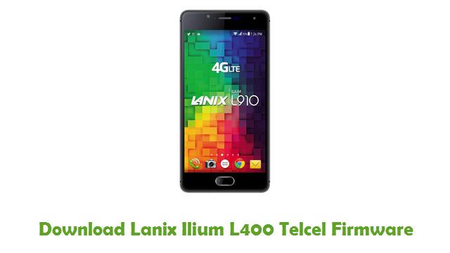 Lanix Ilium L400 Telcel Stock ROM