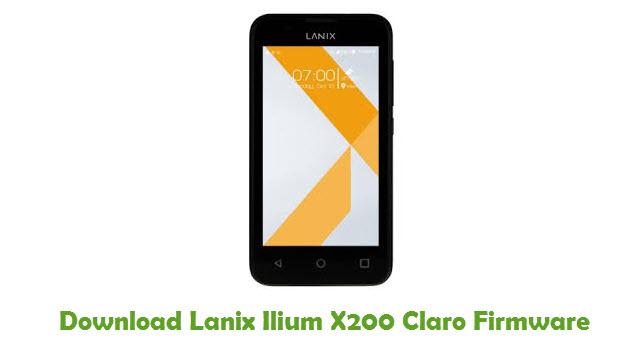 Lanix Ilium X200 Claro Stock ROM