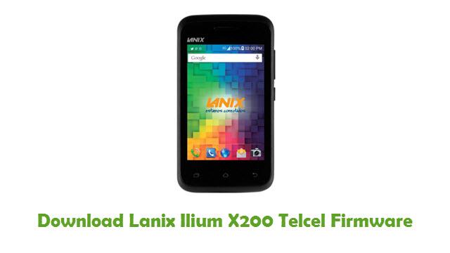 Lanix Ilium X200 Telcel Stock ROM