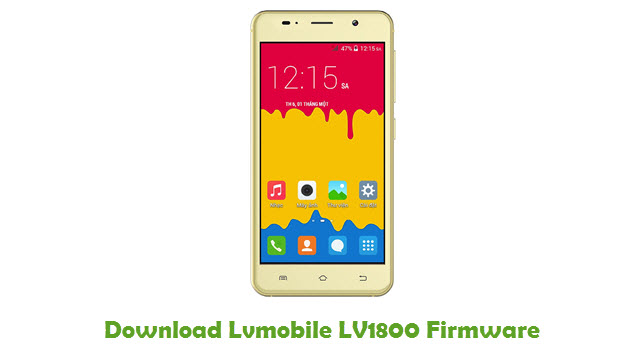 Download Lvmobile LV1800 Firmware