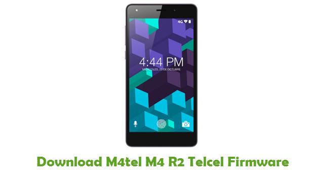 M4tel M4 R2 Telcel Stock ROM
