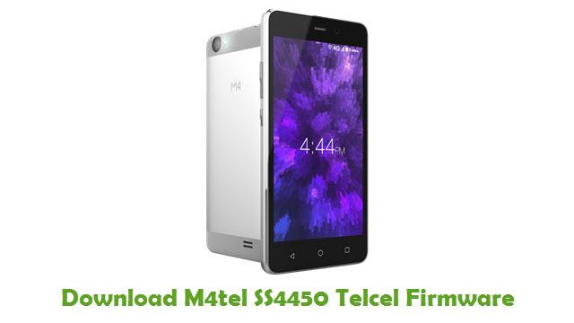 M4tel SS4450 Telcel Stock ROM