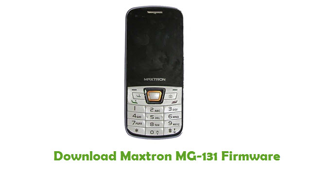 Download Maxtron MG-131 Firmware