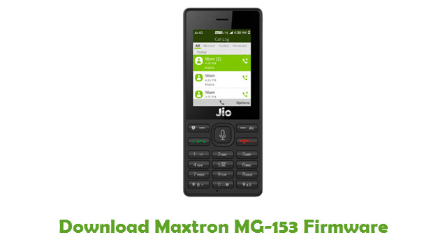 Download Maxtron MG-153 Firmware