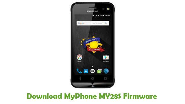 Download MyPhone MY28S Stock ROM