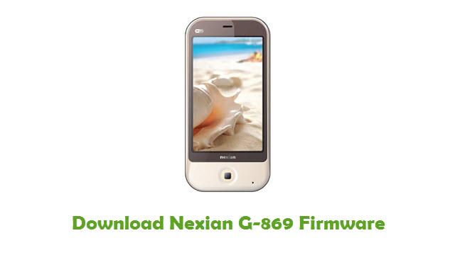 Download Nexian G-869 Firmware