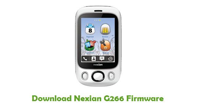 Download Nexian G266 Firmware