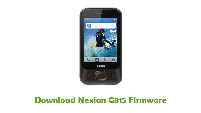 Download Nexian G315 Firmware