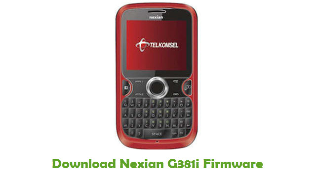 Download Nexian G381i Firmware