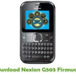 Nexian G505 Firmware