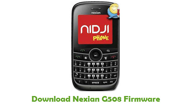 Download Nexian G508 Firmware