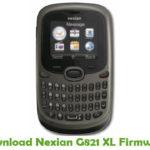 Nexian G821 XL Firmware