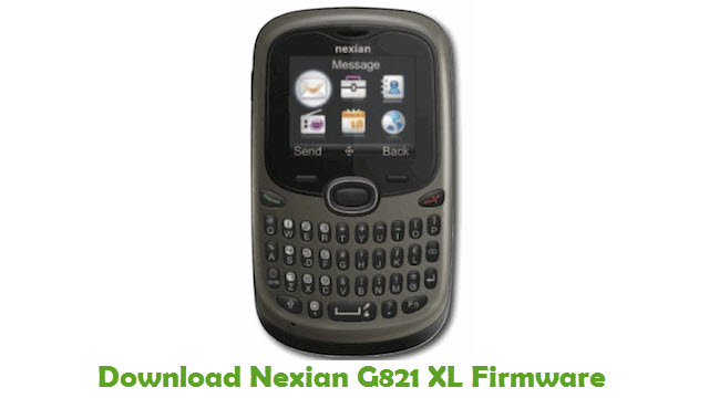 Download Nexian G821 XL Firmware