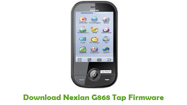 Download Nexian G868 Tap Firmware
