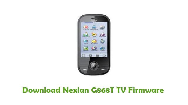 Download Nexian G868T TV Firmware