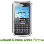 Nexian G900 Firmware