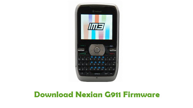 Download Nexian G911 Firmware