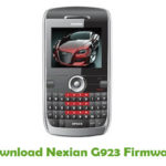 Nexian G923 Firmware