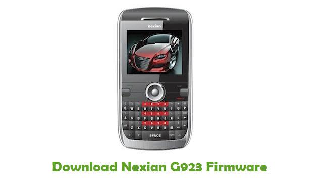 Download Nexian G923 Firmware
