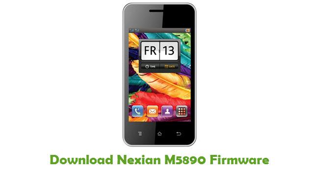Download Nexian M5890 Firmware