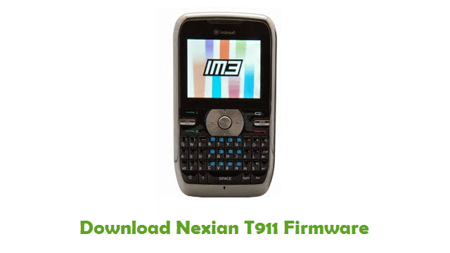 Download Nexian T911 Firmware