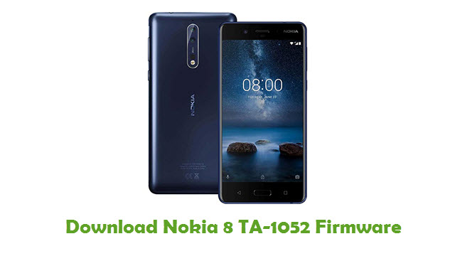 Download Nokia 8 TA-1052 Firmware