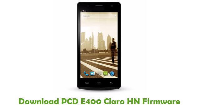 Download PCD E400 Claro HN Firmware