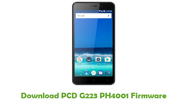 Download PCD G223 PH4001 Firmware