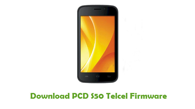 PCD S50 Telcel Stock ROM